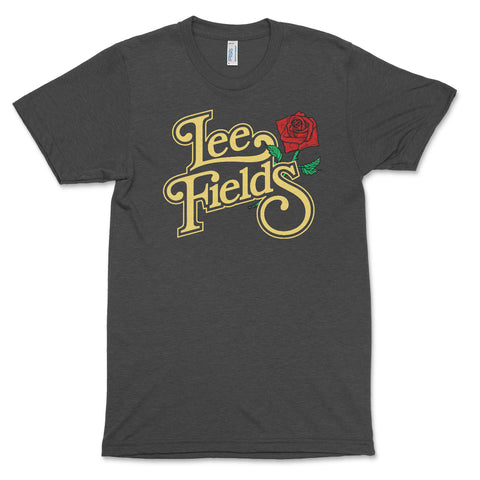 Lee Fields Rose T-shirt (Dark Grey)