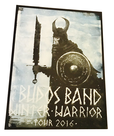 The Budos Band - Winter Warrior Tour Poster - daptonerecords