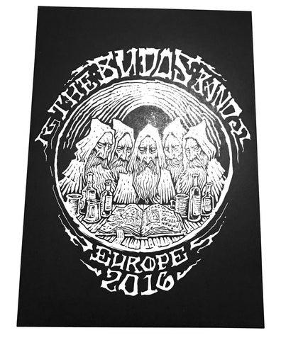The Budos Band - 2016 European (mini) tour poster - daptonerecords