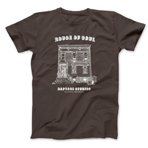Brown House Of Soul Tee - daptonerecords