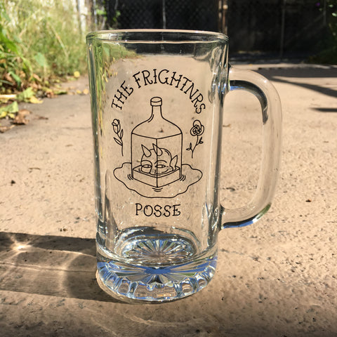 The Frightnrs Posse Glass Mug