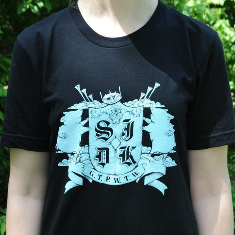 SJDK Black Crest T-Shirt - ON SALE! - daptonerecords