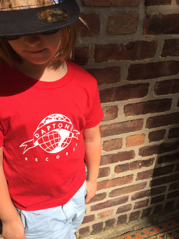 Kid's Daptone Logo Tee (Red) - daptonerecords