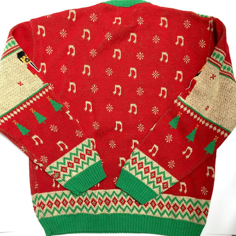 Sharon Jones & the Dap-Kings Holiday Knit Sweater (Red)