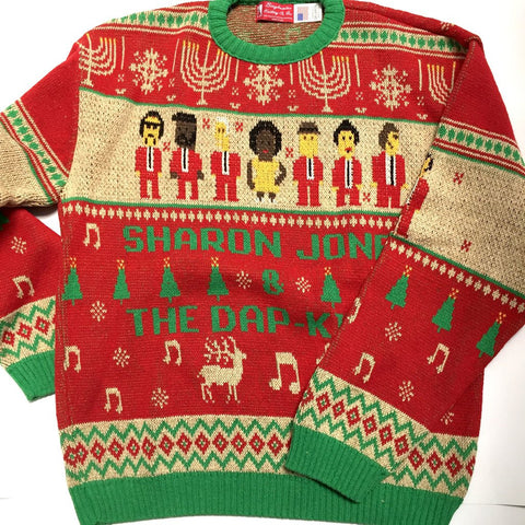 Sharon Jones & the Dap-Kings Holiday Knit Sweater - daptonerecords - 3