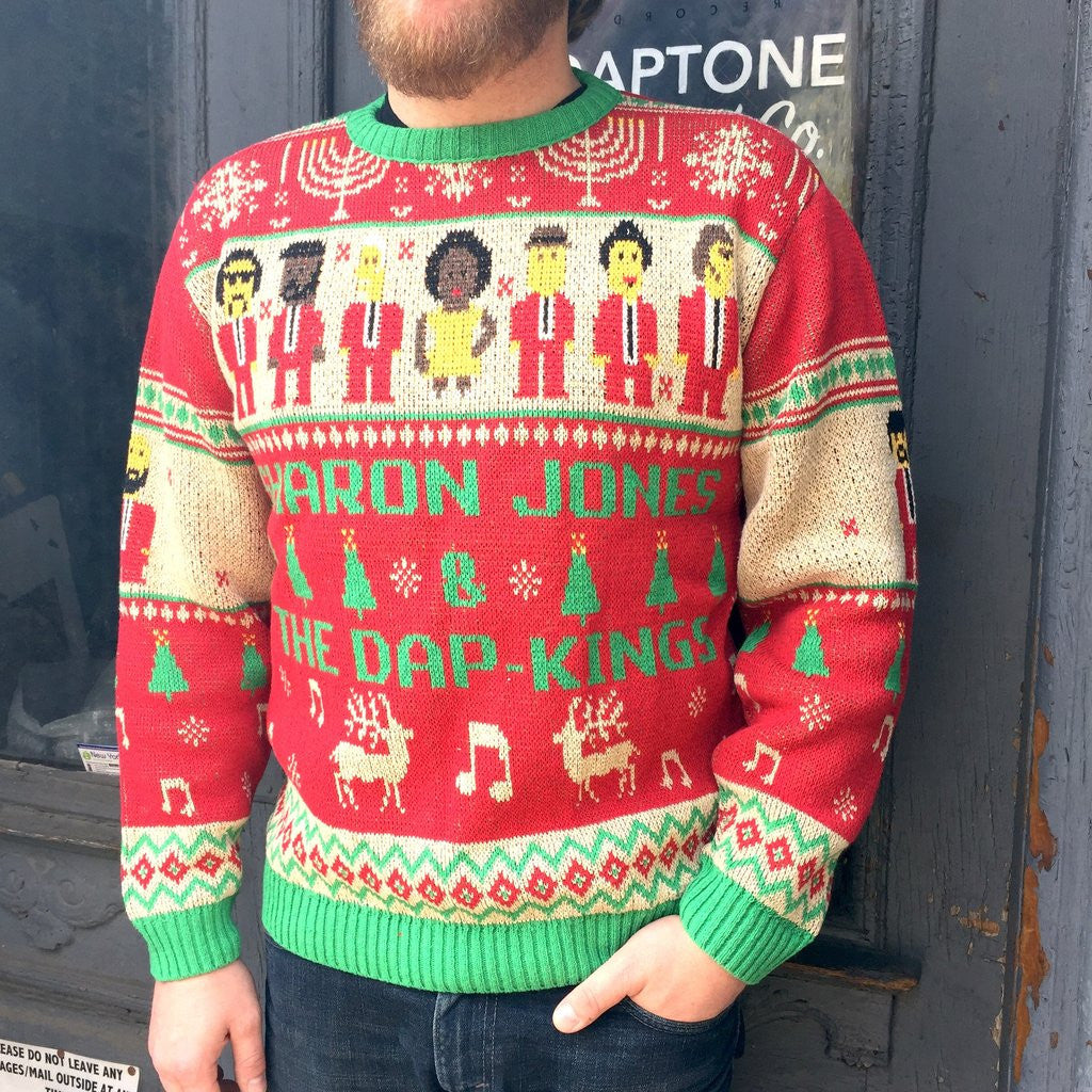 Sharon Jones & the Dap-Kings Holiday Knit Sweater – daptonerecords