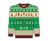 Sharon Jones & the Dap-Kings Holiday Knit Sweater (Green)