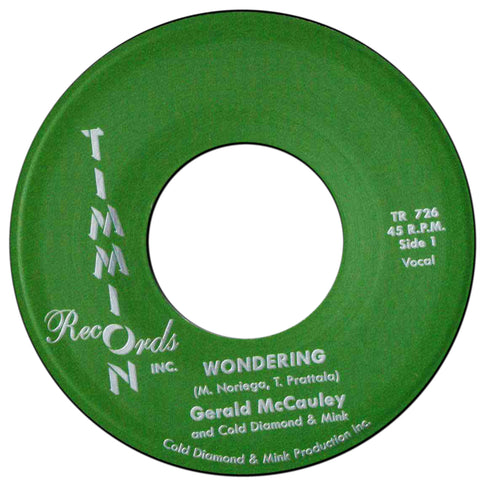Gerald McCauley and Cold Diamond & Mink - Wondering / Instrumental