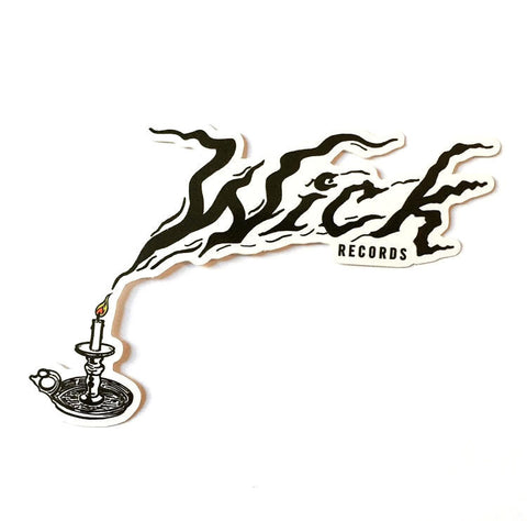 Wick Records Logo Sticker