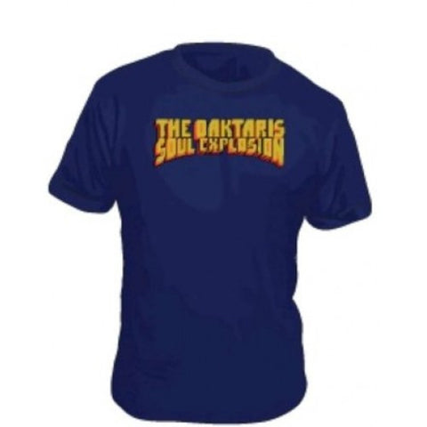 Navy Blue Daktaris Tee - On Sale - daptonerecords