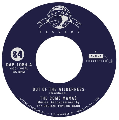 "The Como Mamas - ""Out Of The Wilderness / Well Well, Don't You Worry 'Bout Me"""