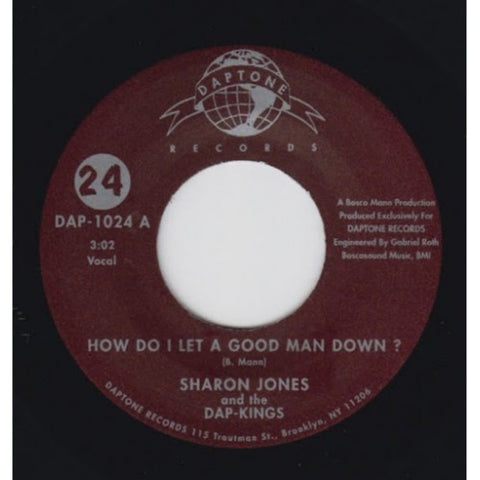 "Sharon Jones & The Dap-Kings - ""How Do I Let A Good Man Down"" / ""My Man Is A Mean Man"""