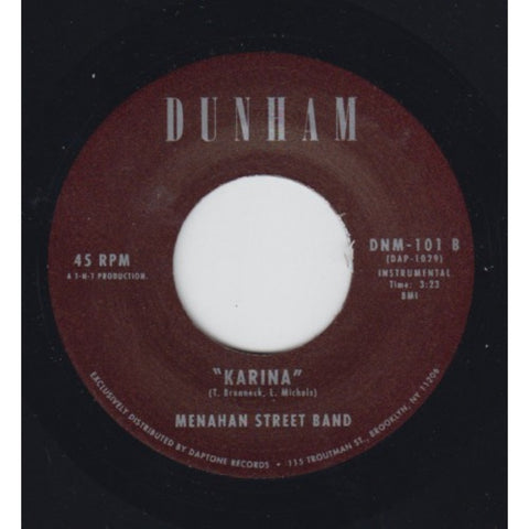 "Menahan Street Band ""Make The Road By Walking"" / ""Karina"""