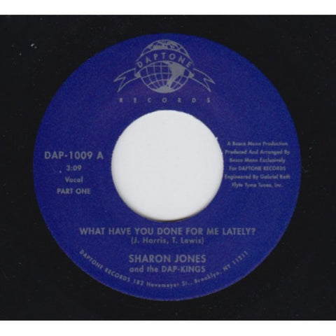 "Sharon Jones & the Dap-Kings - ""What Have You Done For Me Lately Pt. 1 & 2"""