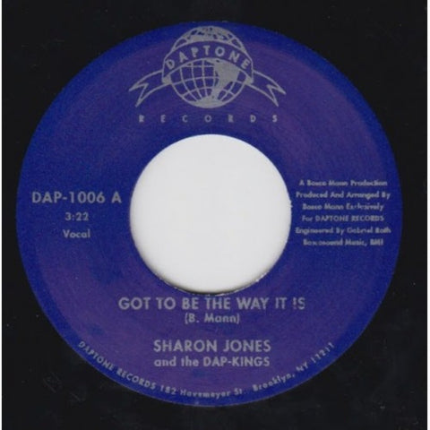 "Sharon Jones & the Dap-Kings - ""Got To Be The Way It Is Pt. 1 & 2"""