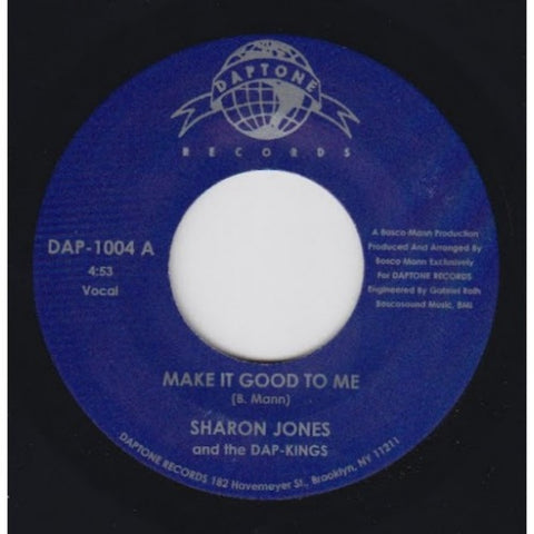 "Sharon Jones & the Dap-Kings - ""Make It Good To Me/Casella Walk"""