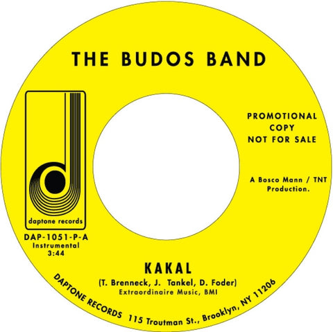 The Budos Band - Kakal / Hidden Hand - daptonerecords