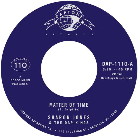 Sharon Jones & the Dap-Kings - Matter of Time / When I Saw Your Face