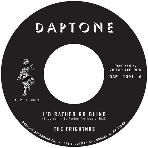 The Frightnrs - I'd Rather Go Blind *BACK IN STOCK*