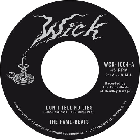 The Fame-Beats - Don't Tell No Lies / Watford Stomp
