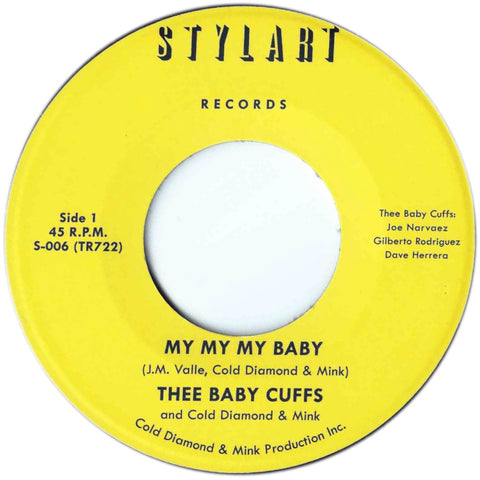 Thee Baby Cuffs - My My My Baby / Instrumental