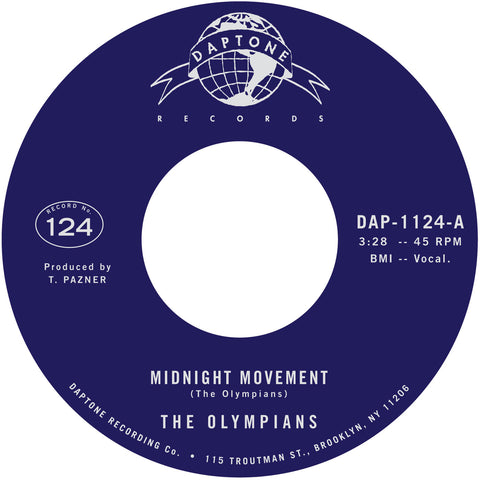 PRE-ORDER: The Olympians - Midnight Movement / Stand Tall