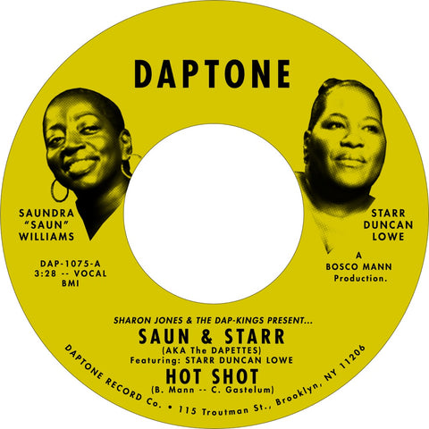 "Saun & Starr ""Hot Shot b/w Gonna Make Time"""