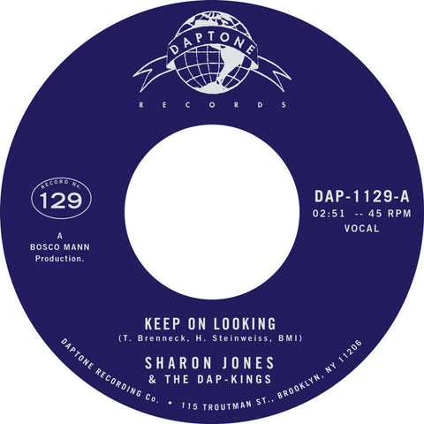 "Sharon Jones & the Dap-Kings ""Keep On Looking"" 45"