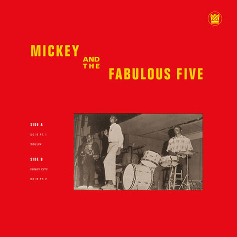 Mickey & The Fabulous Five (Big Crown Records) - daptonerecords