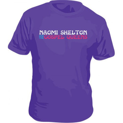 Purple Naomi Shelton Tee - On Sale - daptonerecords