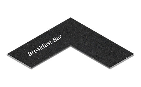 Breakfast Bar on Left