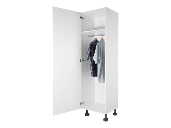1 Door Tall Wardrobe Cabinet