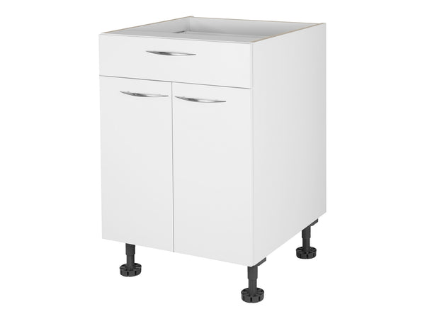 2 Door, 1 Drawer Base Cabinet