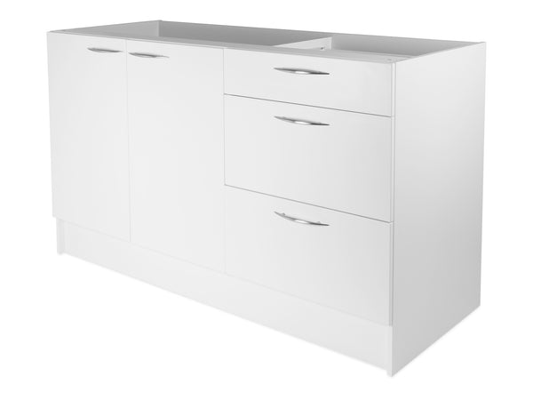 2 Door, 3 Drawer HWC Kitchenette, 2 dividers