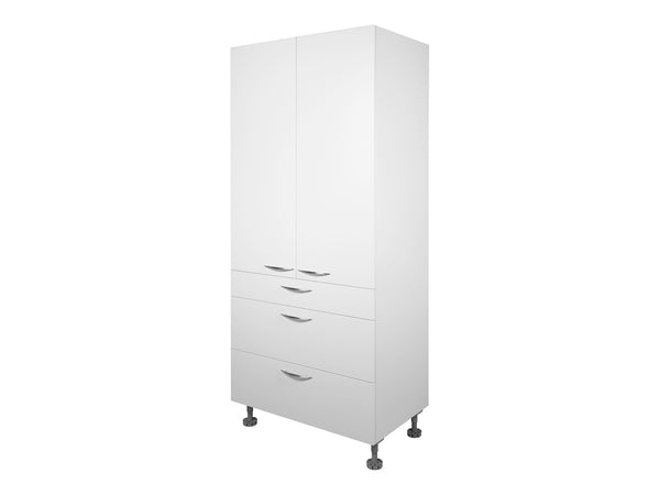 2 Door, 3 Drawer Tall Cabinet