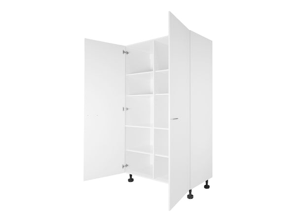 2 Door Tall Cabinet with Division