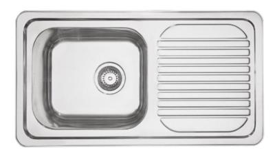 Mercer Horizon Slim Single Bowl with Drainer (EH101)
