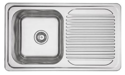 Mercer Horizon Single Sink with Drainer (EH102)