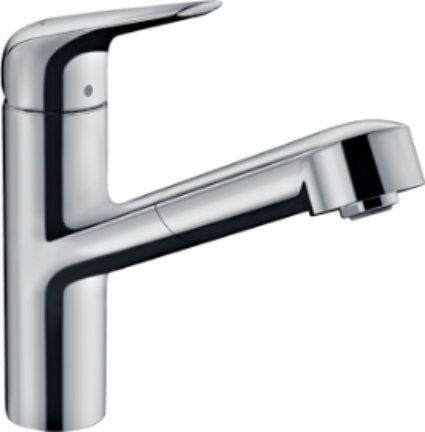 Hansgrohe M427 Sink Mixer with Pull-out Spray