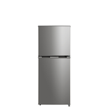 Midea 207L Stainless Steel Fridge Freezer