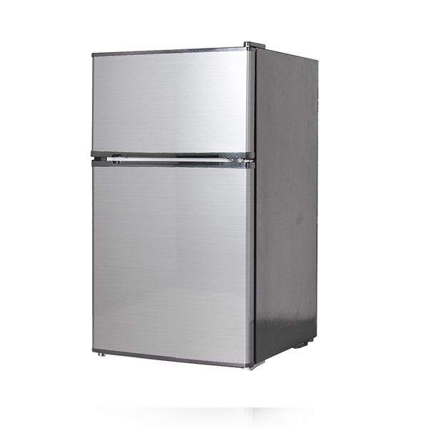 Midea 91L Stainless Steel Bar Fridge Freezer