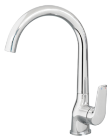 Aquatica Saluto Sink Mixer Chrome