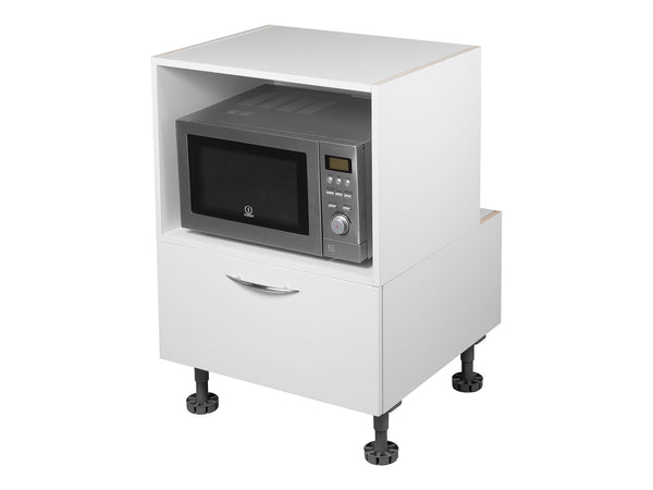 Base Microwave Box with 1 Drawer Base Cabinet