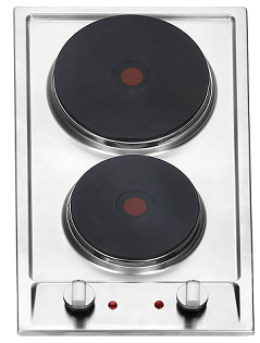 Eurotech 2 Element Stainless Steel Cooktop