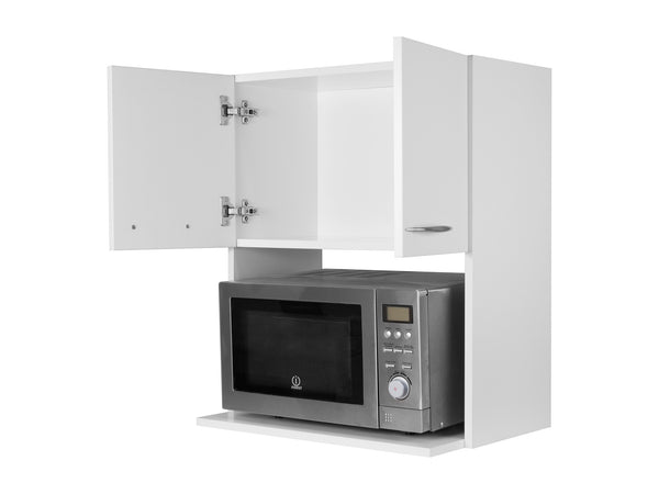 Microwave Wall Cabinet - No Back