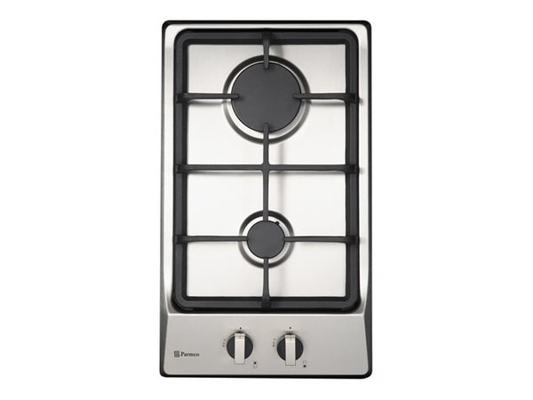Parmco 2 Element Stainless Steel Gas Cooktop