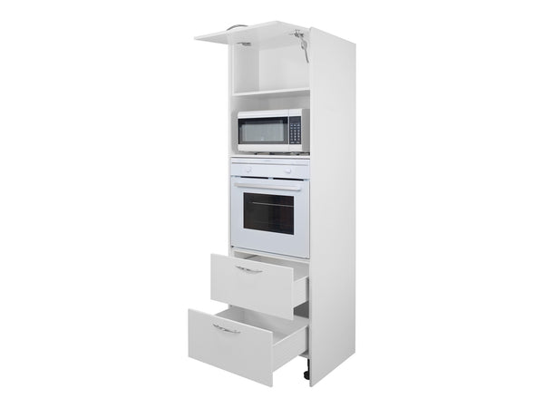 Flap Door Tall Oven Microwave Tower