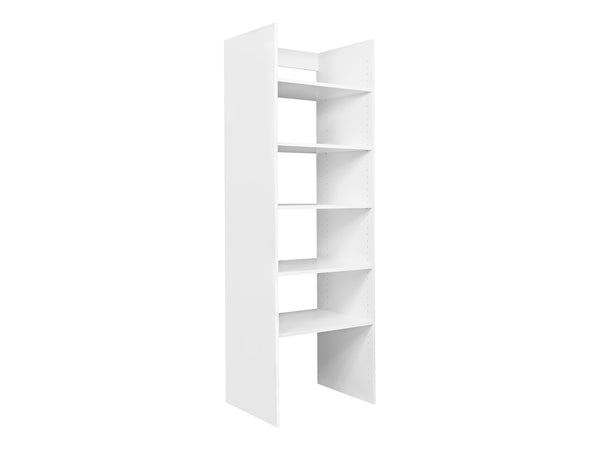 Wardrobe Tower with Shelves