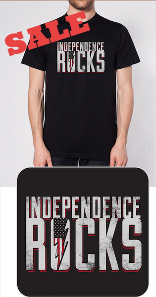SALE - Independence Rocks T -Shirt