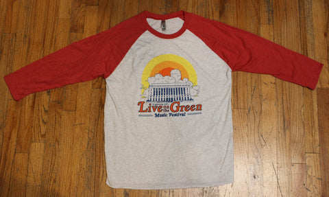 LOTG Sunset Baseball Tee